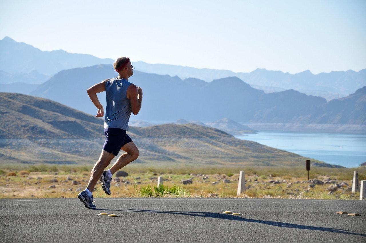 running warm-up